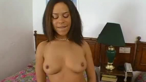 Interracial slut with a super hairy pussy is having the best sex ever with a black guy