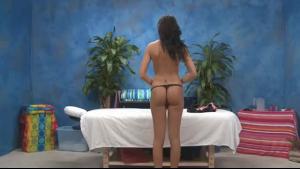 Man strippers restrain lesbian girl before intercourse