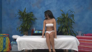 Sexy babes fucked and cumed by the masseur