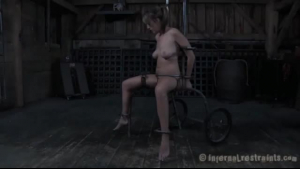 Naughty milf is being tied up and tortured, because her new lover likes it a lot